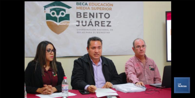 Comienza entrega de becas Benito Juárez en Sonora