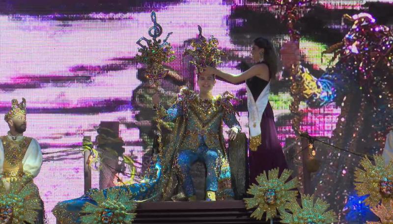 Coronan al Rey del Carnaval 2020