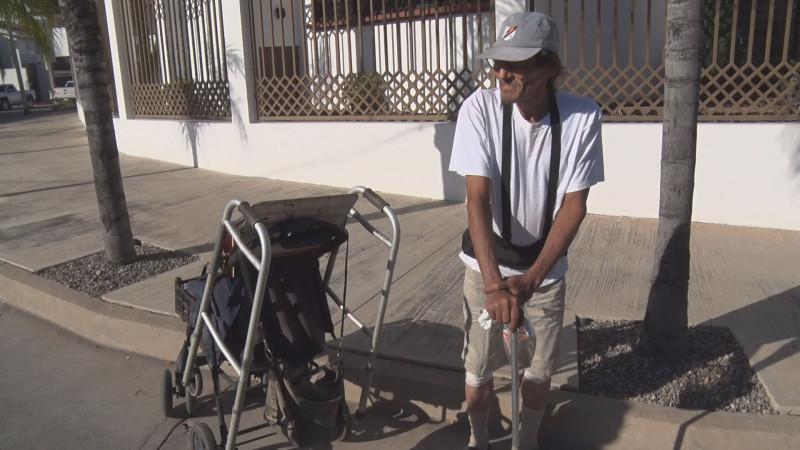 Adulto mayor en situación de calle
