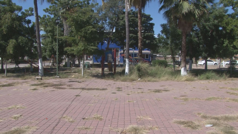 Abandonan parque de Bachigualato