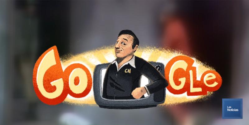 """Google celebra el aniversario del nacimiento de """"Chespirito"""""""