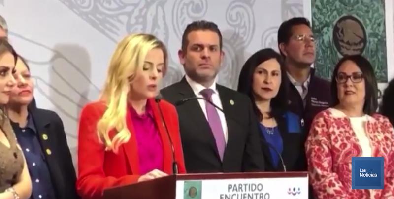 Anuncia Diputada por Sonora del PRI  su traslado al Partido Encuentro Social