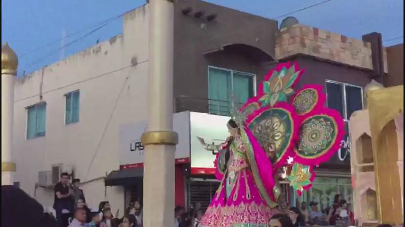 Saldo blanco en Carnaval de Guamúchil