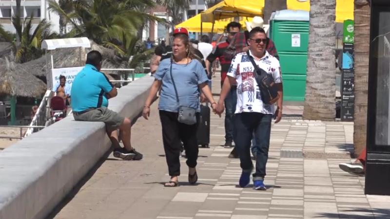 Turistas comienzan a despedirse de Mazatlán y su Carnaval