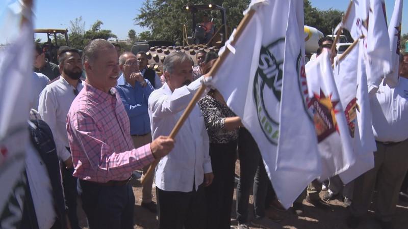 Inician obra para conectar carretera Culiacancito con bulevar Miguel Tamayo