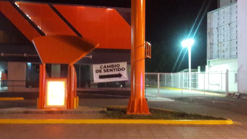 Cambian el sentido de circulación de la avenida Camarón Sábalo