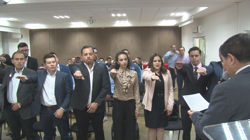 Jesús Antonio Borboa asume la presidencia del Consejo Intercamaral Juvenil