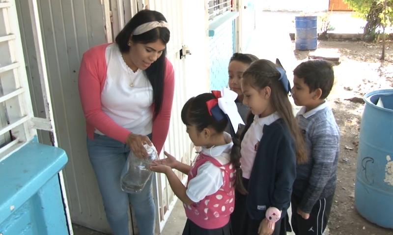 Escuelas en Mazatlán aplican acciones preventivas para evitar contagios
