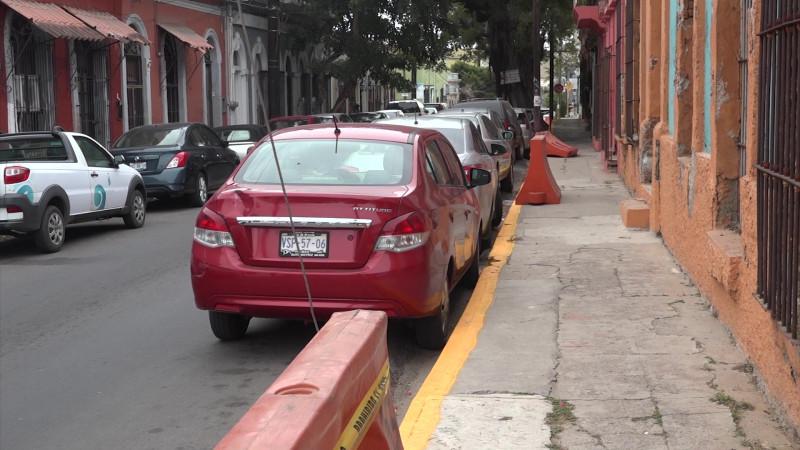 Se reducen estacionamientos en el Centro de Mazatlán
