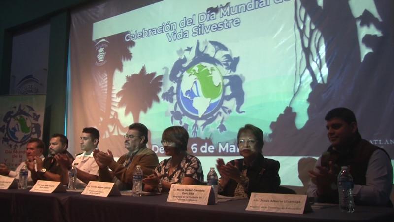 Celebran en Mazatlán el Día Mundial de la Vida Silvestre