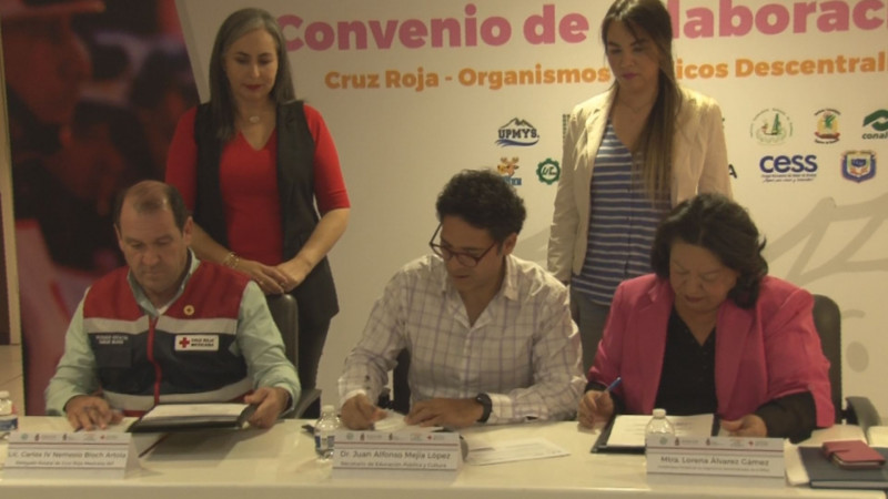 Organismos públicos descentralizados se suman a colecta de Cruz Roja Sinaloa
