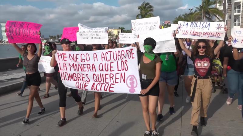 Se sumará Mazatlán a marcha feminista nacional