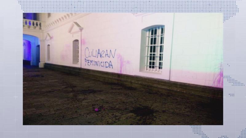 Fueron actos vandálicos las pintas al Ayuntamiento: Estrada Ferreiro