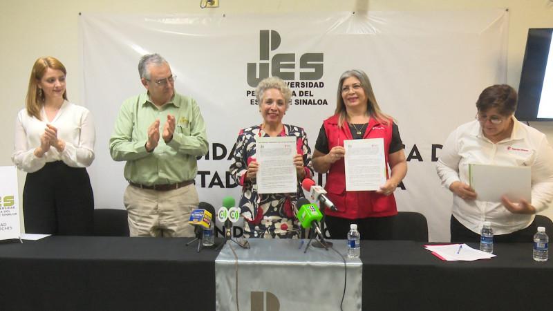 Firman convenio de colaboración UPES y save the childrens