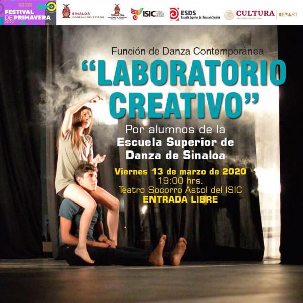 """""""Laboratorio creativo""""con los alumnos de la Escuela Superior de Danza"""