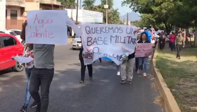 FCR dan plazo de 72 horas para tener respuesta sobre base militar en Agua Caliente