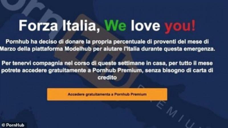 Pornhub apoya a Italia regalando sus servicios Premium: usuarios del mundo aprovechan esto con la trampa del VPN