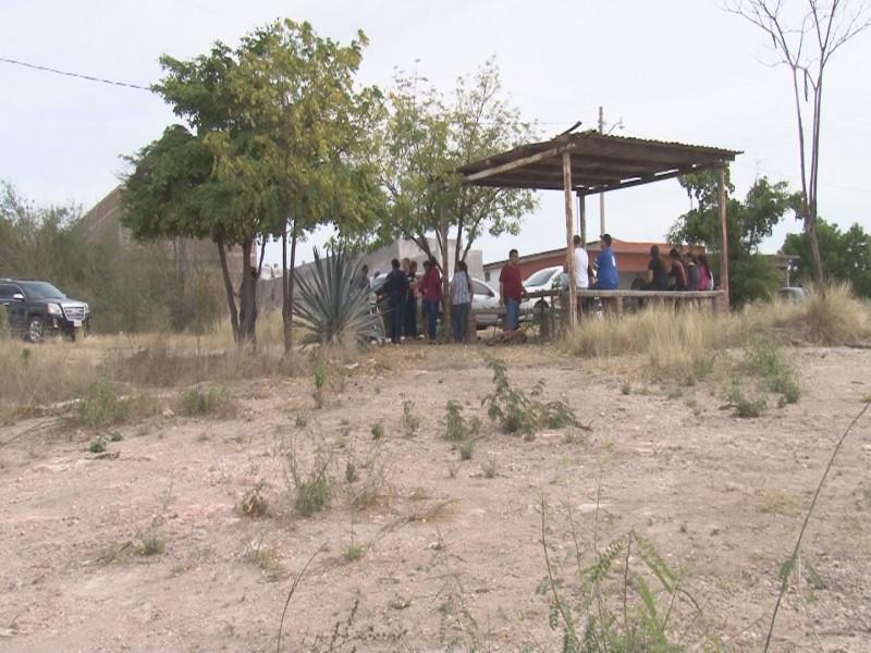 Denuncian  venta de  área verde en Bosques del Humaya