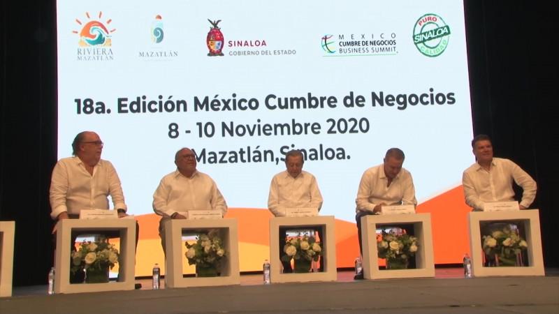 Mazatlán será sede de la México Cumbre de Negocios 2020