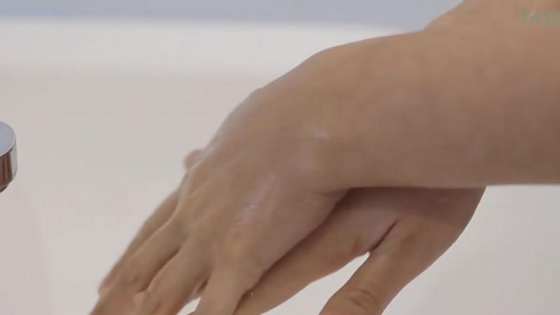 ¿ Sabe lavarse bien las manos ?