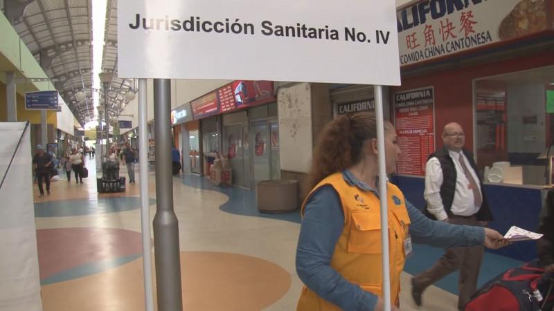 No hay ningún cerco sanitario en la Central Internacional de Autobuses de Culiacán