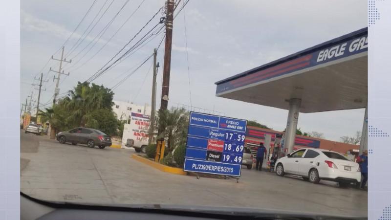 Se registra baja en el precio de la gasolina en Aguascalientes
