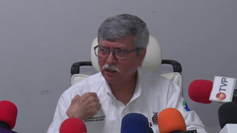 No es momento de paralizar actividades por coronavirus, señala Secretario de Salud en Sinaloa