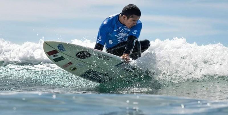 Martín Díaz obtiene 5to lugar en el Mundial de Surfing adaptado