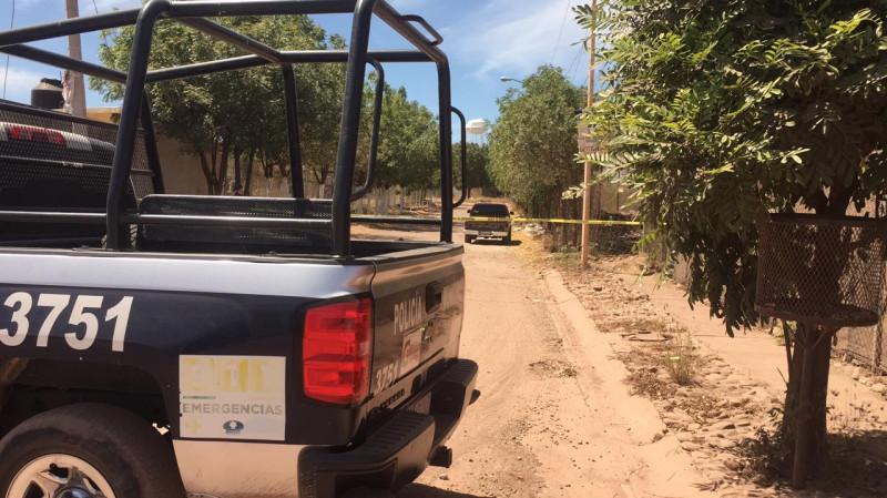 Enterrados en la caja de una camioneta encuentran a dos hombres