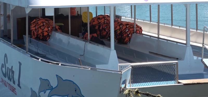 Catamaranes resienten baja de turismo en Mazatlán