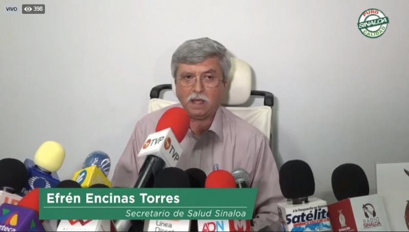 Etapa 3 de contingencia por coronavirus llegaría entre agosto y septiembre: Secretario de Salud de Sinaloa