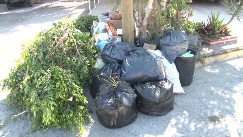 Mazatlán con déficit de recolección de basura en medio de la pandemia