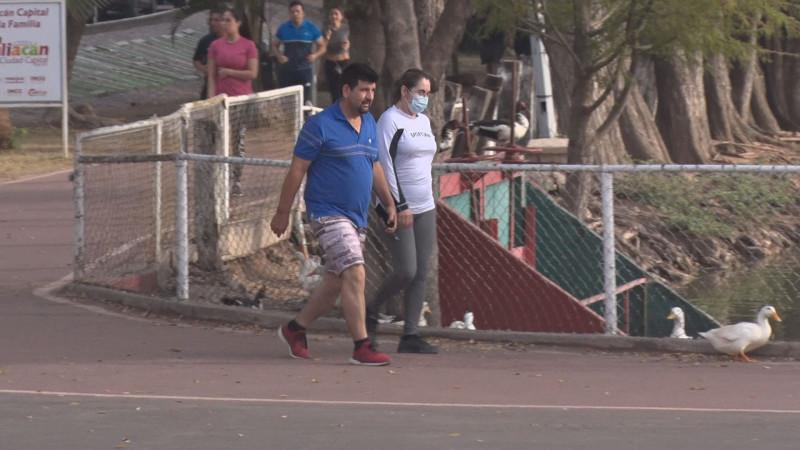 Realizan ejercicio sin medidas de prevención