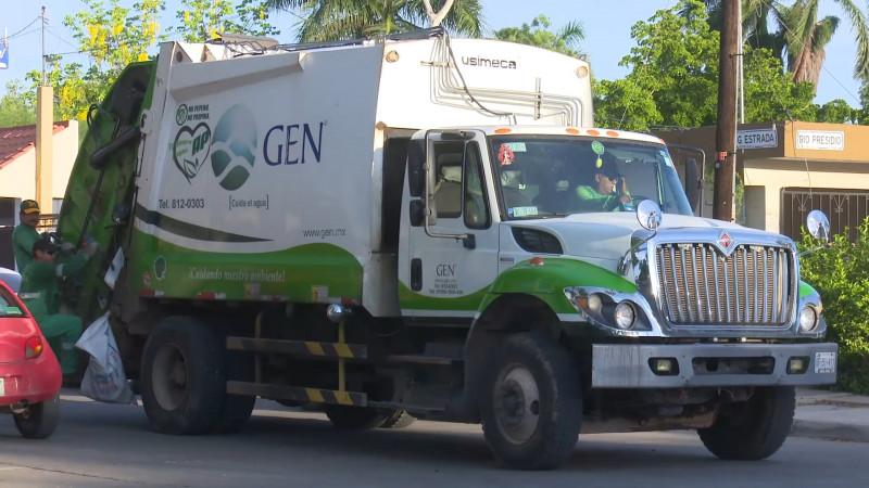 Retienen pago a recolectores de basura