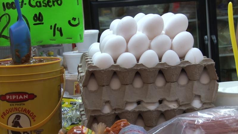 Otra vez sube el kilo de huevo