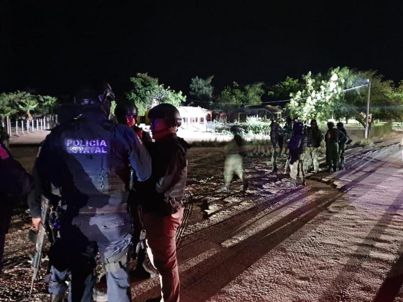 De nuevo reportan grupos armados al norte de Culiacán