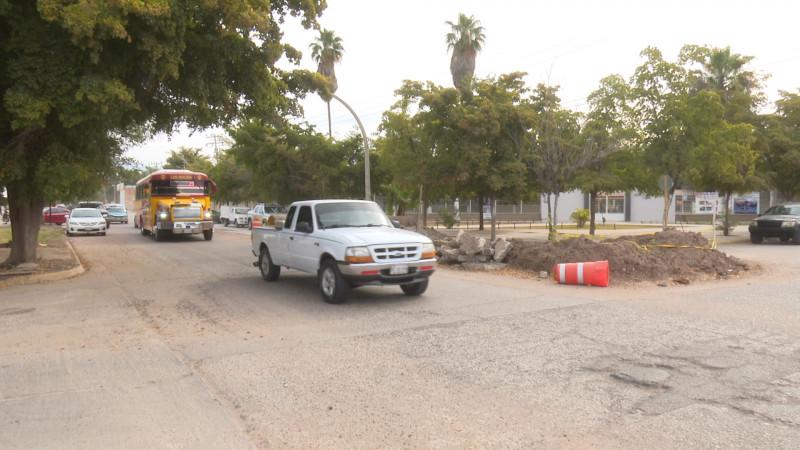 Reabren la calle Santos Degollado