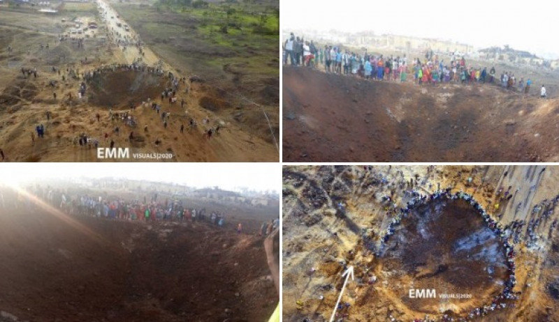 Es falsa la noticia de que cayó un meteorito en Nigeria