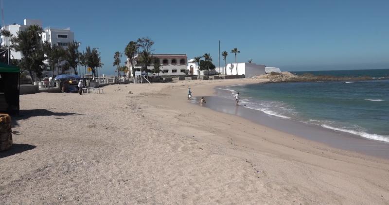 ESA asegura que zonas de playa se mantienen prácticamente solas