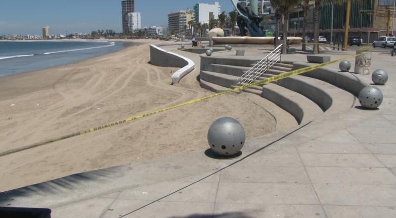 Salvavidas retirarán a bañistas por cierre de playas