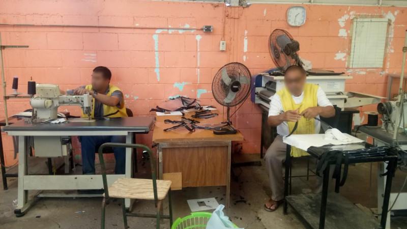 Elaboran caretas para prevenir el Covid-19 en el Centro Penitenciario de Culiacán