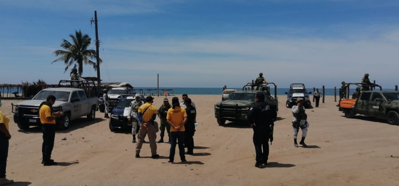 Escuinapa refuerza presencia policiaca preventiva en playas