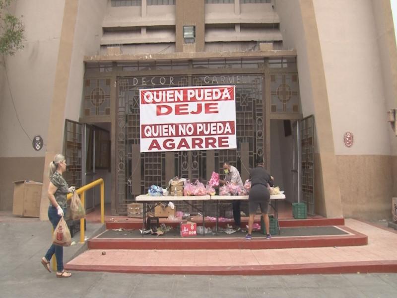 Entregan apoyo a familias vulnerables de Culiacán