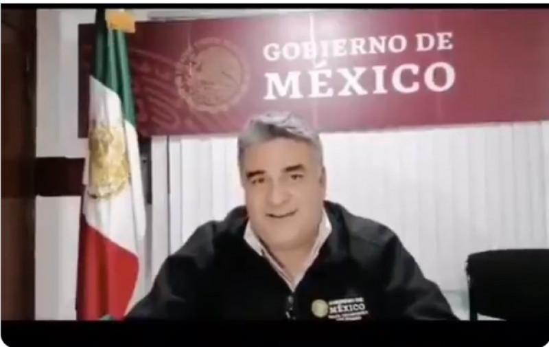 """Video: """"Va a emerger un nuevo fortalecimiento de la familia... las que sobrevivan (jejeje)"""", Delegado del Gobierno Federal en Baja California"""