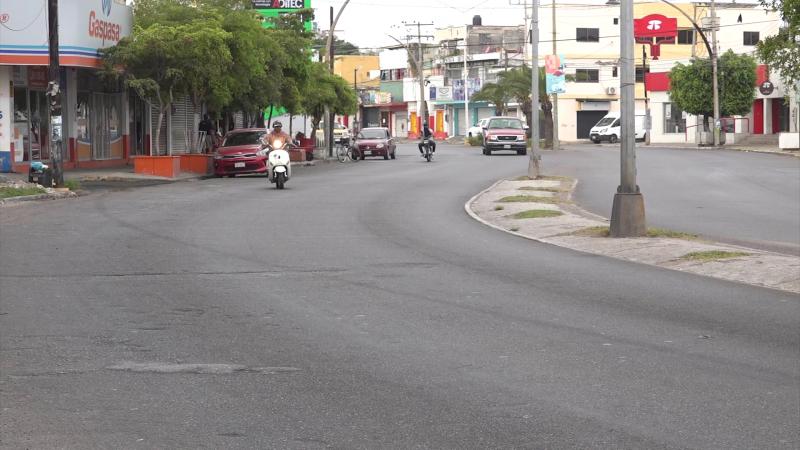 Avenidas y calles sin tráfico vehicular