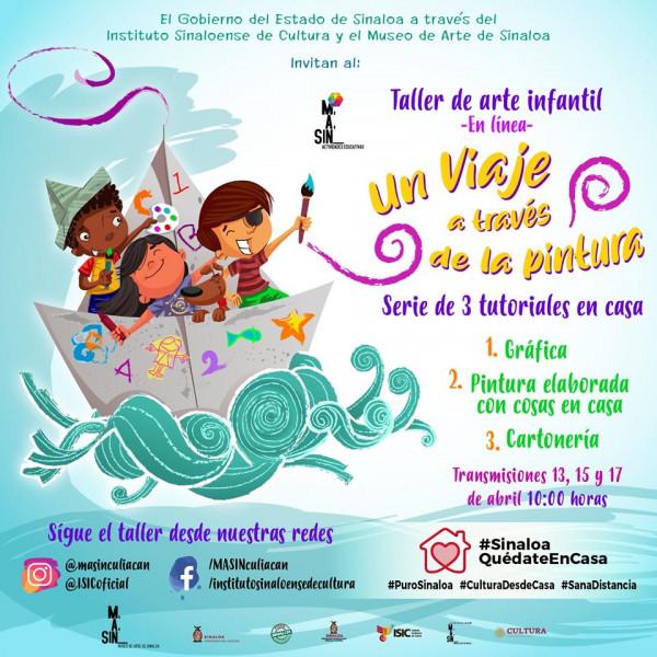 Desde casa inicia el taller de pascua infantil del MASIN