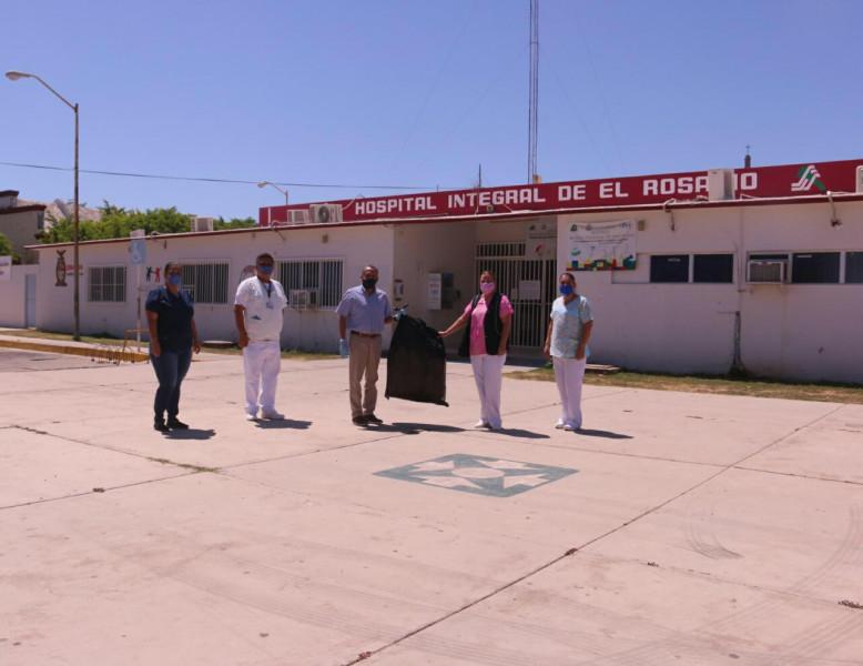 Hospital de Rosario ya con un área para atender casos sospechosos de Covid-19