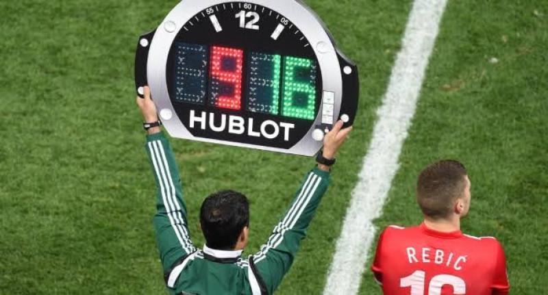 FIFA propone cinco cambios en partidos oficiales