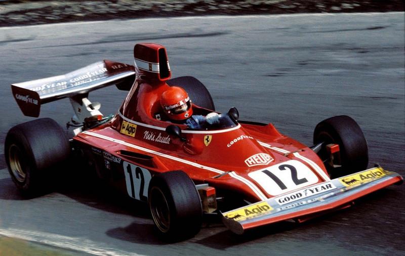Niki Lauda un día como hoy ganó su primer carrera con Ferrari