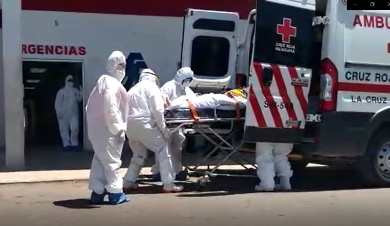 143 personas ha atendido Cruz Roja por Covid